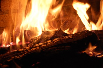 Stock Photo Styled Image: Fire -Personal & Commercial Use