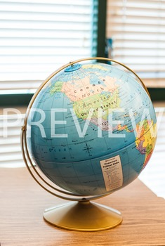Stock Photo Styled Image: Globe #3 -Personal & Commercial Use