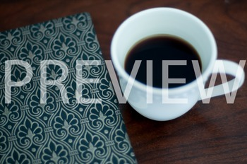 Stock Photo Styled Image: Journal & Coffee #1 -Personal &