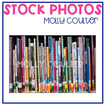 Stock Photo Styled Image: Library Books #1 -Personal & Com