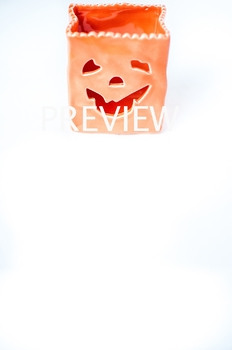 Stock Photo: Halloween Pumpkin Jack-O-Lantern #1 -Personal