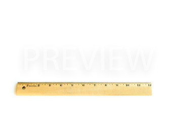 Stock Photo: Math Measuring Ruler #2 -Personal & Commercial Use