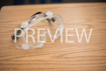 Stock Photo: Science Lab Protective Goggles -Personal & Co