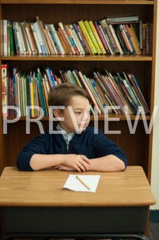 Stock Photo: Shocked/Surprised Student or Child #1-Persona