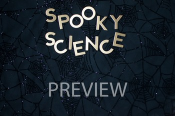 "Stock Photo: ""Spooky Science"" Words #1-Personal & Commercial Use"