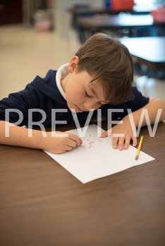 Stock Photo:Student Erasing their Mistakes #1-Personal & C