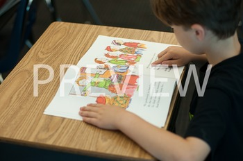 Stock Photo Styled Image: Student Reading #12-Personal & C
