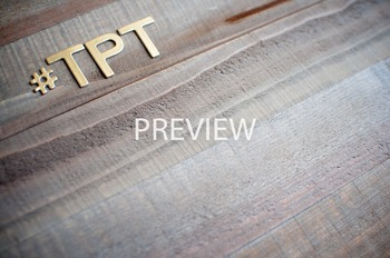 """Stock Photo Styled Image: """"#TPT"""" #2 in Gold Letters -Perso"""