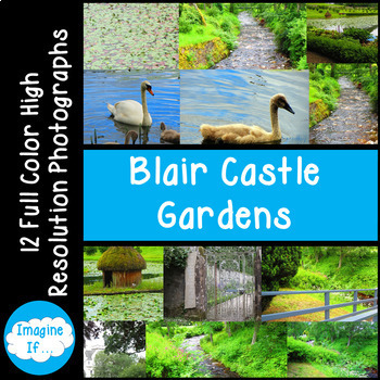 Stock Photos-Blair Castle Gardens