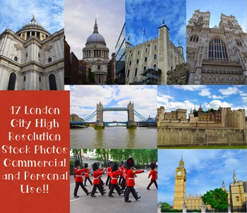 Stock Photos: London, England (Commercial and Personal Use)