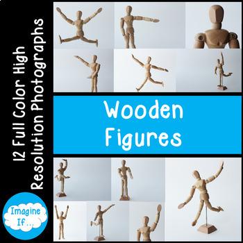 Stock Photos-Wooden Figures