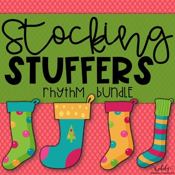 Stocking Stuffers {Bundled Rhythm Game}