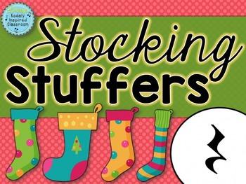 Stocking Stuffers {ta rest rhythm game}