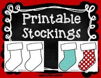 Stockings - Printable