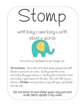 Stomp with Long O & U with Silent E