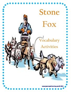 Stone Fox Vocabulary Activities