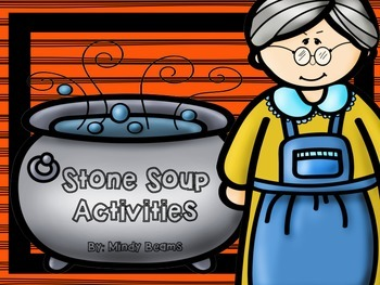 Stone Soup Activities - Interactive Book Included