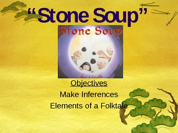 Stone Soup - Making Inferences - Support for Treasures Rea
