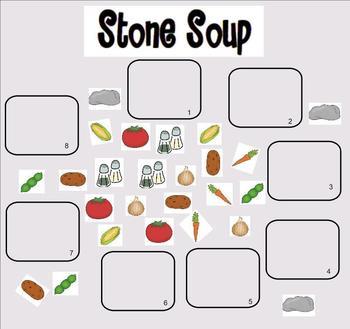 Stone Soup smartboard activities