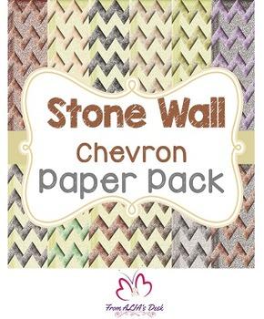 Stone Wall Chevron Paper Pack