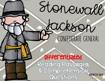 Stonewall Jackson Differentiated Reading Passages
