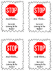 Stop And Think Cards
