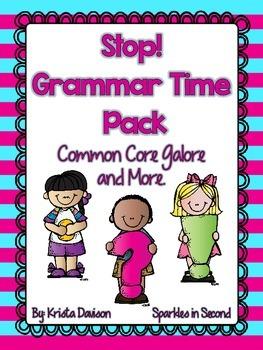 Stop! Grammar Time Pack