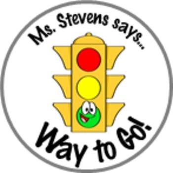 Reward Stop Light Achievement Stickers Personalized For Yo