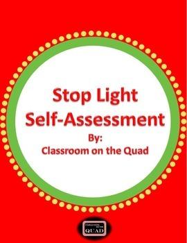 Stop Light Student Self-Assessment