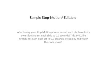 Stop-Motion Powerpoint Template