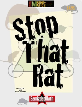 Addition, Subtraction, Consecutive Number Puzzle: Stop That Rat!