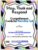 Stop, Think and Respond Cards BUNDLE - Informational and N