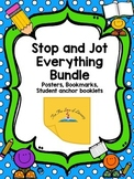 Stop and Jot Everything Bundle