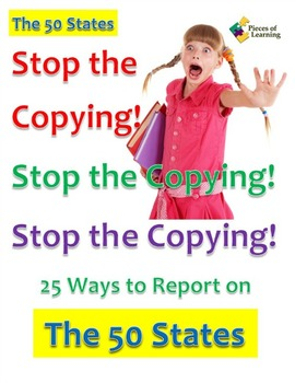 Stop the Copying!- The 50 States