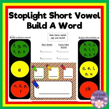 Stoplight Build A Word