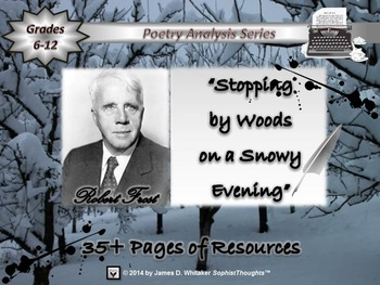 Stopping by Woods on a Snowy Evening by Robert Frost Poem
