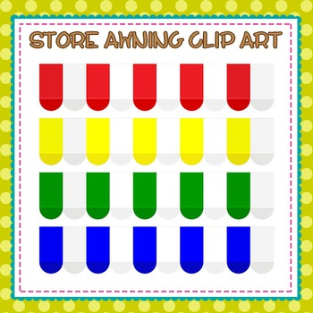 Store Awning Clip Art
