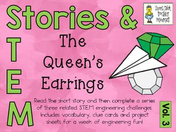 Stories & STEM ~ The Quen's Earrings ~ 3 STEM Challenges u