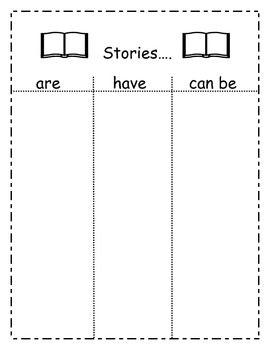 Stories are have can be