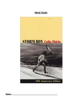 Storm Boy Novel Study Comprehension Booklet