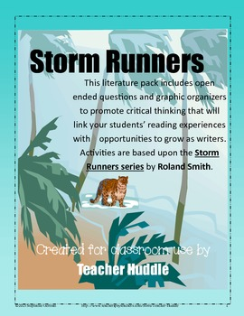 Storm Runners series by Roland Smith - Writing & Reading E