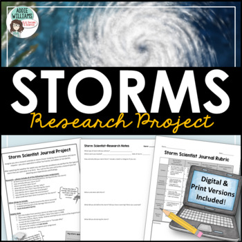 Storm Scientist Research Project