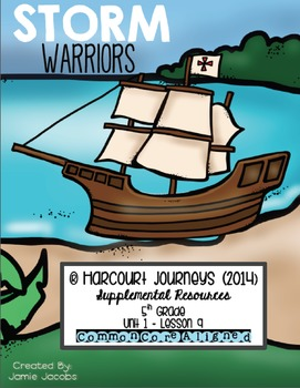 Storm Warriors (Journeys 5th Gr. - Supplemental Materials)