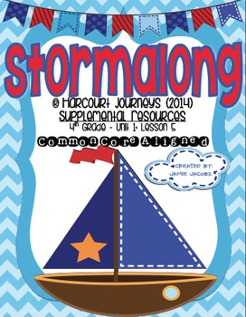 Stormalong (Journeys 4th Grade - Supplemental Materials)