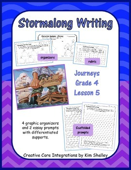 Stormalong Journeys Lesson 5 Writing