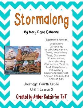 Stormalong Supplemental Activities 4th Grade Journeys Unit