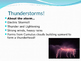 Storms: Severe Weather Powerpoint