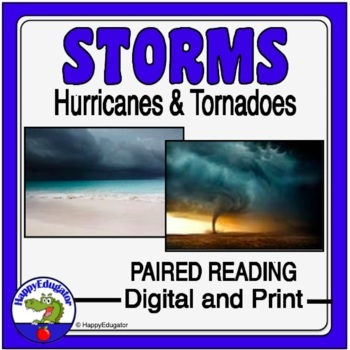 Hurricanes vs. Tornadoes - Storms Venn Diagram