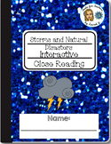 Storms and Natural Disasters Close Reading Activities: Goo