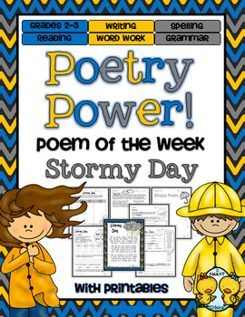Stormy Day Poetry Power! Daily Literacy Practice